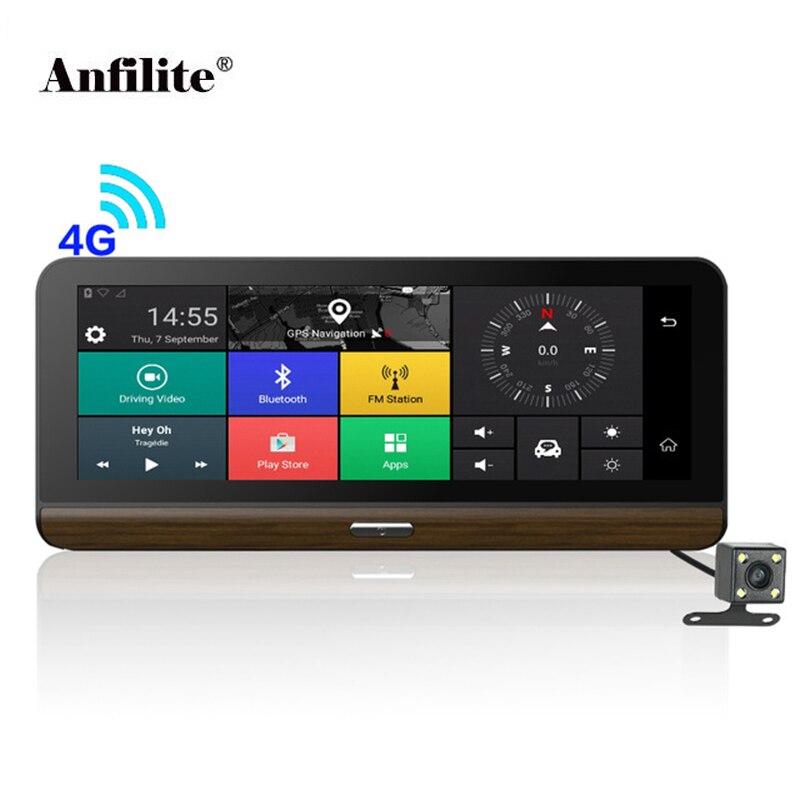 Anfilite E31 Pro 4G ADAS Car Camera GPS Android 5 1 Car DVRs WIFI 1080P Video