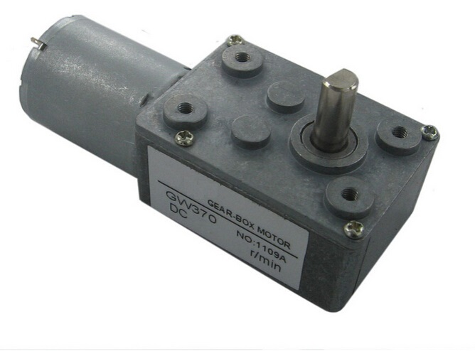 new Worm gear motor torque DC motor GW370 24V 66rpm DC Gear Motor