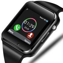 купить 2019 Smart Watch Men Support SIM TF Card Bluetooth Call  Pedometer Sport Waterproof Smartwatch For Android IOS по цене 1344.38 рублей