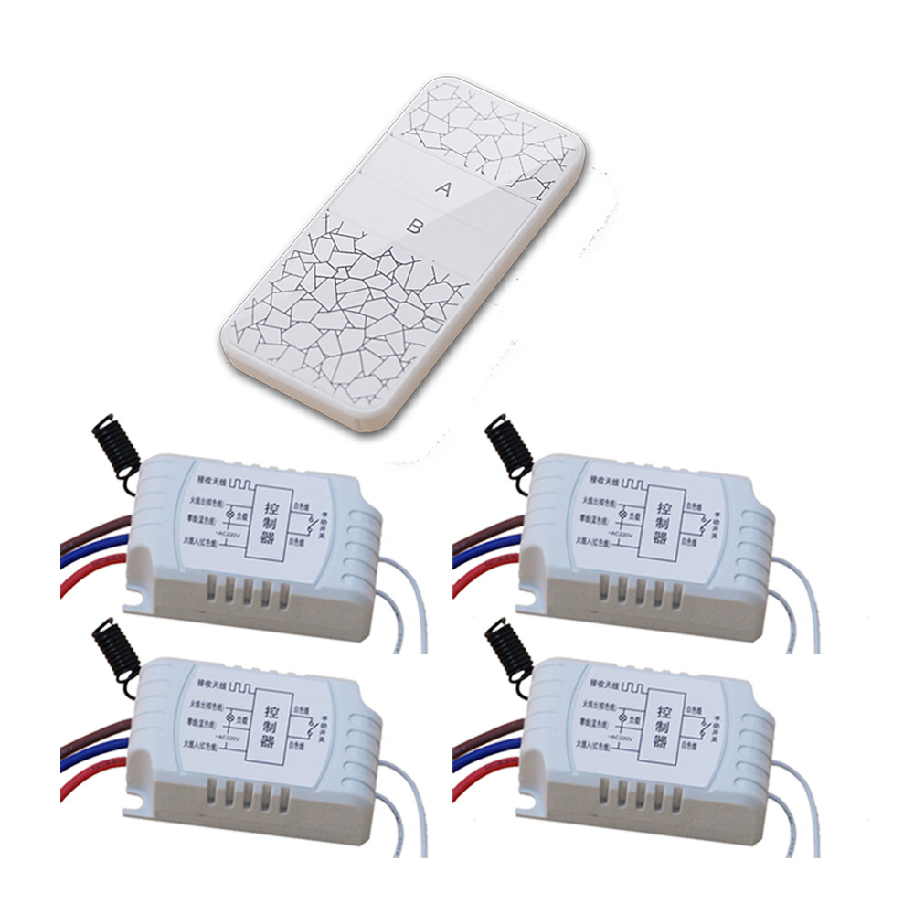 ge 18278 keychain remote transmitter with 1 outlet receiver rf AC220V RF Wireless Remote control switch Remote Controller Relay Receiver Transmitter with Manual Function