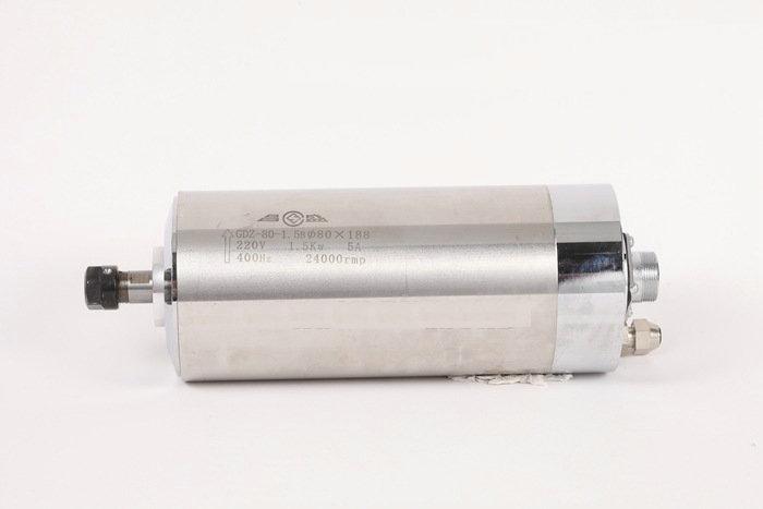 220 V 1.5KW GDZ-80-1.5B ER11 80mm de diamètre du moteur de broche refroidi à l'eau électrique broche sculpture accessoires de machine - 2