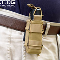 MOLLE Open-Top Individual 92F Pistola Mag Pouch Revista Bolsa para M1911 Glock Linterna/Herramienta Cuchillo Vaina del Cartucho Holster