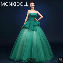 a6839494c4b1 Buy green feather prom dress and get free shipping on AliExpress.com