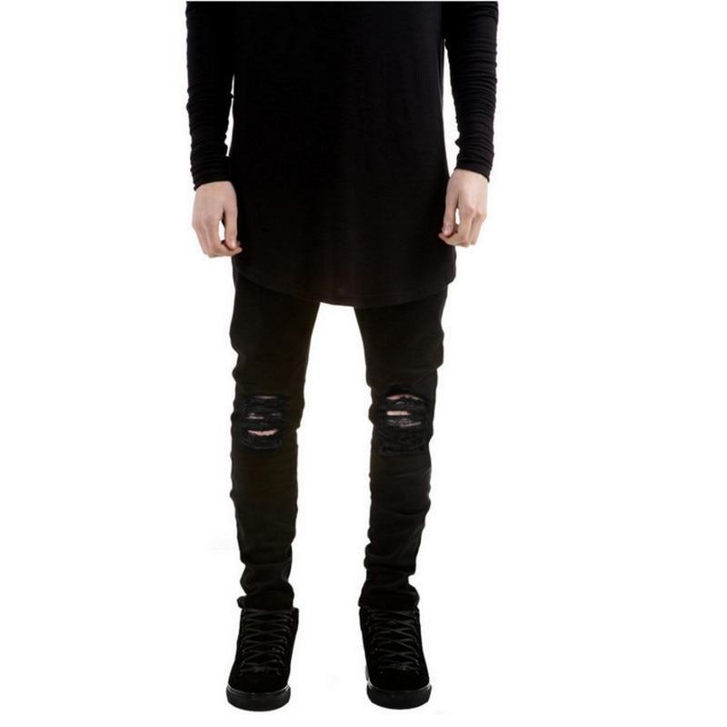 Ripped With Holes Denim Super Skinny Designer Jean  3