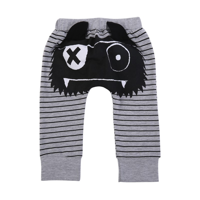2017 Children Pants Baby Boys Girls Cotton Blend Trousers Harem Panties