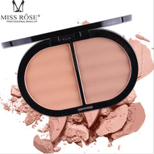 MISS ROSE 2 color powder cake 3 color repair capacity concealer acne powder cake miss rose 12 color high gloss white concealer cheeks strengthen profile shaping powder cake beauty makeup