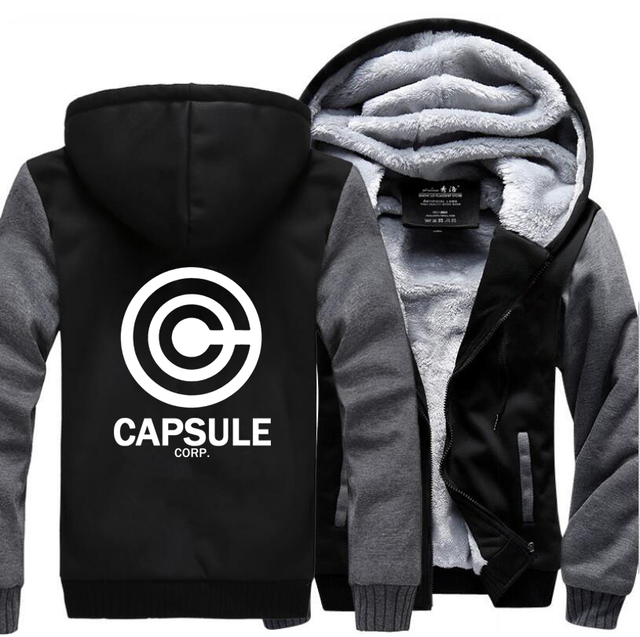 Capsule Corp Zipper Coat Hoodie Series III