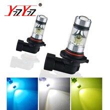 H7 Led Bulb H1 LED Car Fog Lamp H3 H11 H8 H9 PSX24W 9005 HB3 9006 HB4 Led Voiture Lamp 12V 1200Lm 6000K 8000K Auto Fog Light DRL