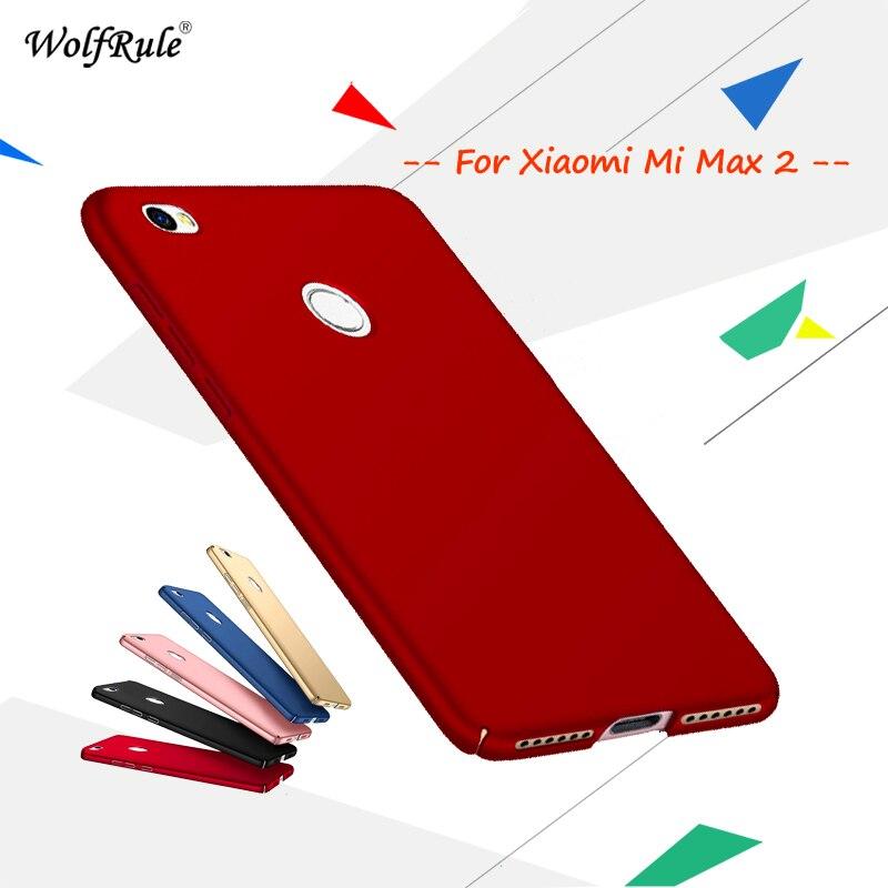 Mi Max 2 För Cover Xiaomi Mi Max 2 Case Anti Knock smooth Slim PC - Reservdelar och tillbehör för mobiltelefoner - Foto 1