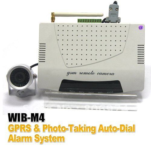 High-Quality GPRS & Auto-Dial Photo-Taking Alarm System Can Capture Thief's Photo and Send to Owner's Cell Phone or Email Box M4