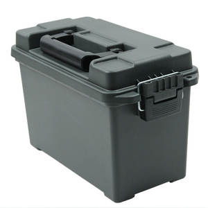 Storage-Case Ammo-Box Bullet-Box Heavy-Duty Military-Style Caliber Plastic Tactical Can