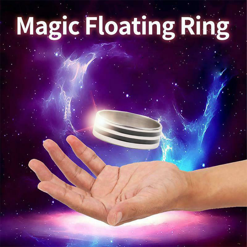 Suspension Ring Magic Props Floating Ring Invisible Metal Stage Mentalism Magic Toys YJS Dropship