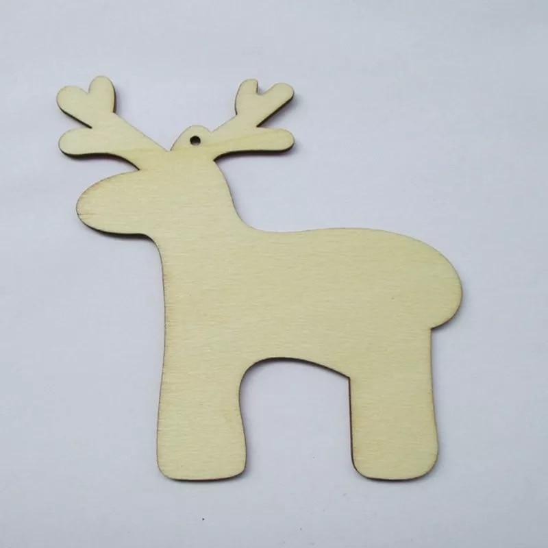 Christmas Wooden Reindeer Decorations