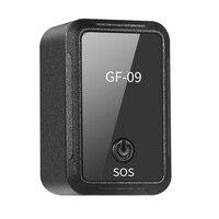 Mais novo carro mini gf 09 gps tracker carro localizador gps rastreador anti perdido dispositivo de rastreamento de gravação de controle de voz pode gravar|Rastreadores GPS| |  -