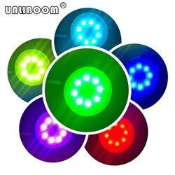1 pc Led Downlight GX53 luz led RGB 220/110 V AC de RGB GX53 bombilla Led 4 W GX53 lámpara con control remoto RGB GX53 llevó la luz del gabinete