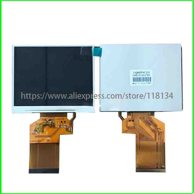 New 3.5 inch <font><b>HD</b></font> TFT LCD Screen LQ035NC111 for <font><b>Satlink</b></font> <font><b>WS</b></font>-6902 6905 <font><b>6906</b></font> 6908 6909 6912 image