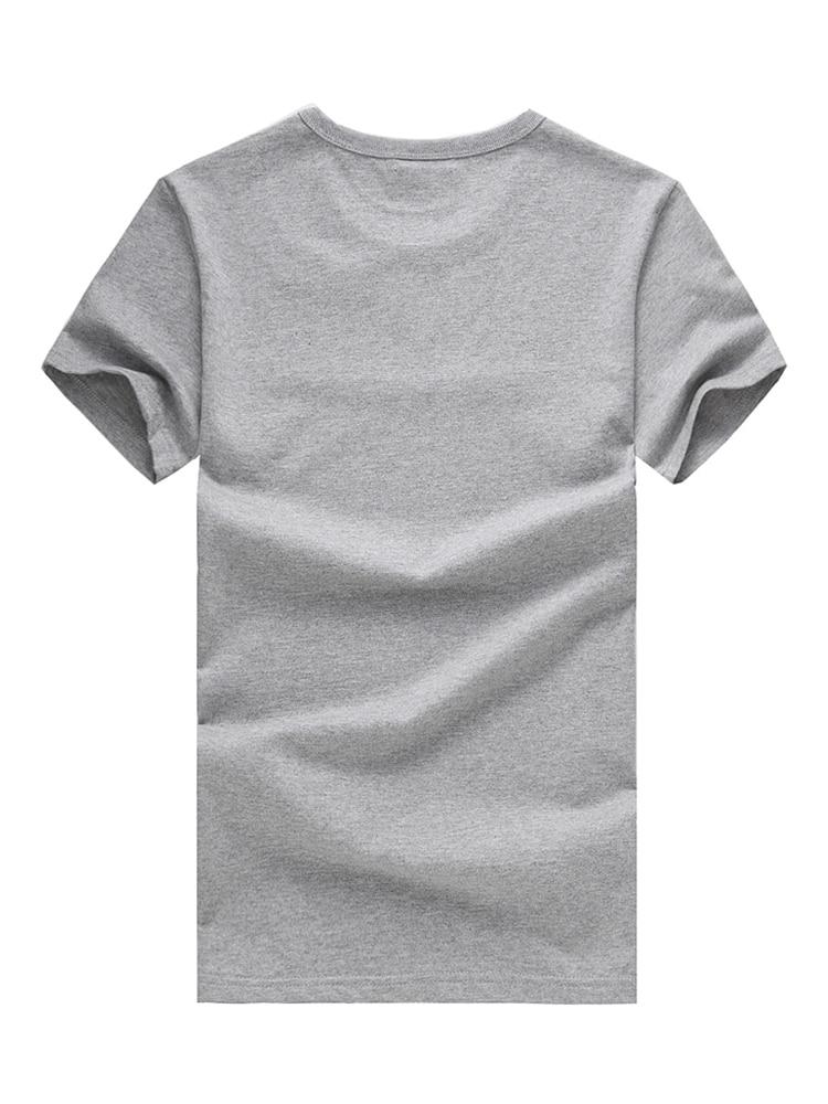 Pioneer Camp 5pcs Simple tshirt Creative Design Line Solid 100% Cotton T Shirts Men's New Arrival Short Sleeve Men t-shirt 2019