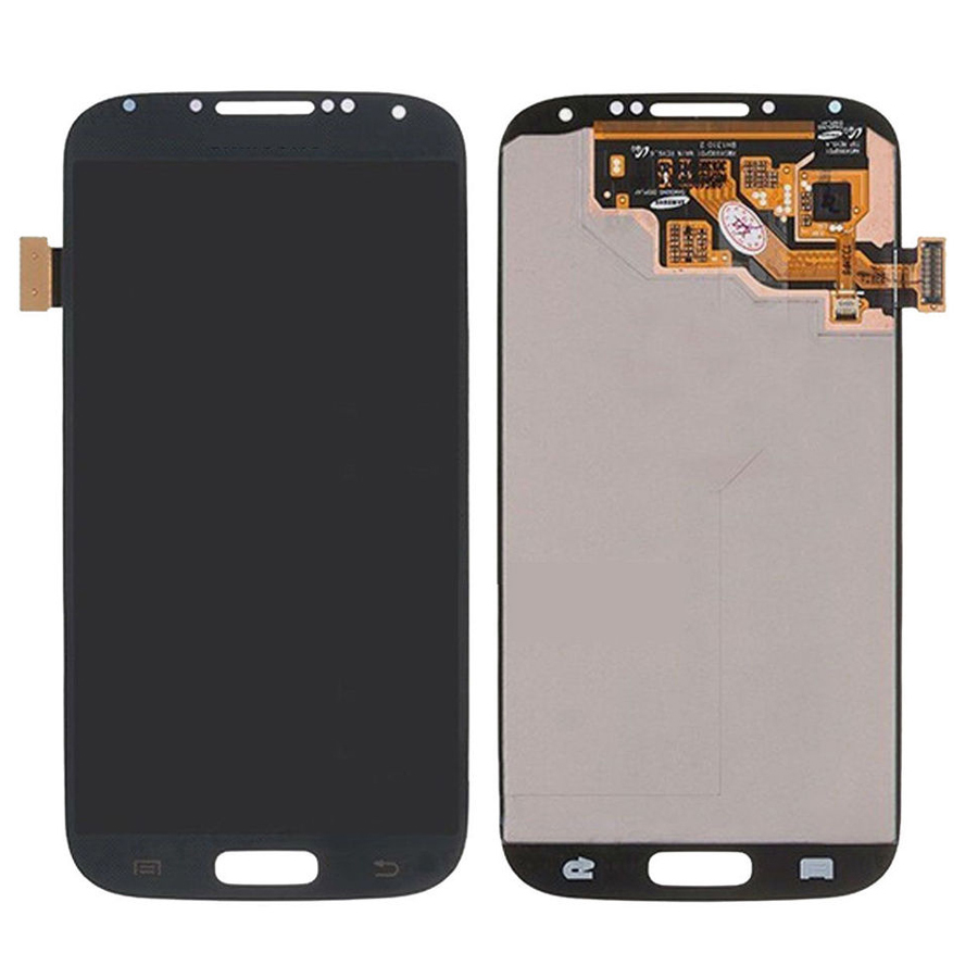 Black Touch Screen Digitizer + LCD Display Assembly Replacement FOR Samsung Galaxy S4 i9500 i9505 i337 M919 i545 Free shipping brand new i9505 lcd screen display for samsung galaxy s4 i9500 i9505 i337 i545 lcd with touch digitizer glass panel frame