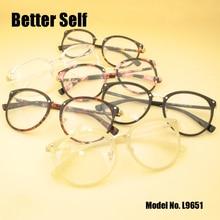Better Self L9651 Full Rim Glasses Stylish Spectacles Eyeglasses Myopia Optical Frame Retro Eyewear Frames