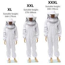 Пчеловодство полное тело Пчеловодство одежда профессиональная пчелиная Защита костюм Пчеловодство Safty вуаль Шляпа платье все тело оборудование