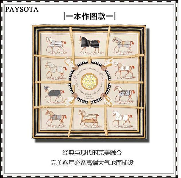 PAYSOTA High Quality Rug Modern Classic Living Room Carpet Bedroom MatChina Mainland