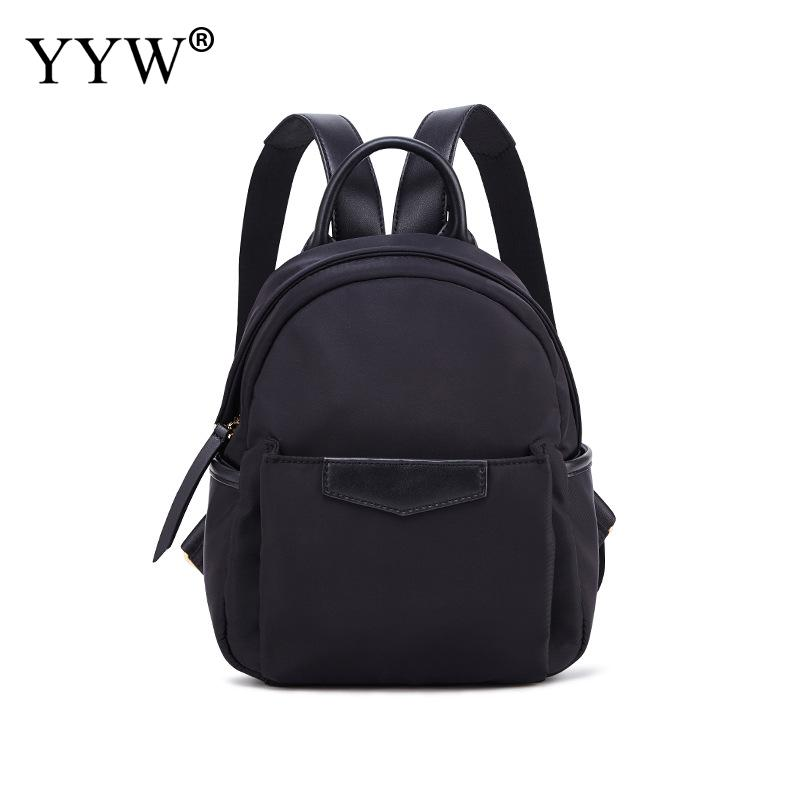 Oxford Backpack Schoolbag-Shoulder-Bag Black Mochila-Feminina Green Waterproof Women