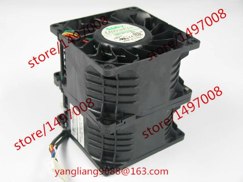 Free Shipping C80V12BS1AJ-70, A06 DC 12V 4.68A 8-wire 8-pin connector 50mm, 80x80x89mm Server Square fan free shipping 10pcs cs4221 bs