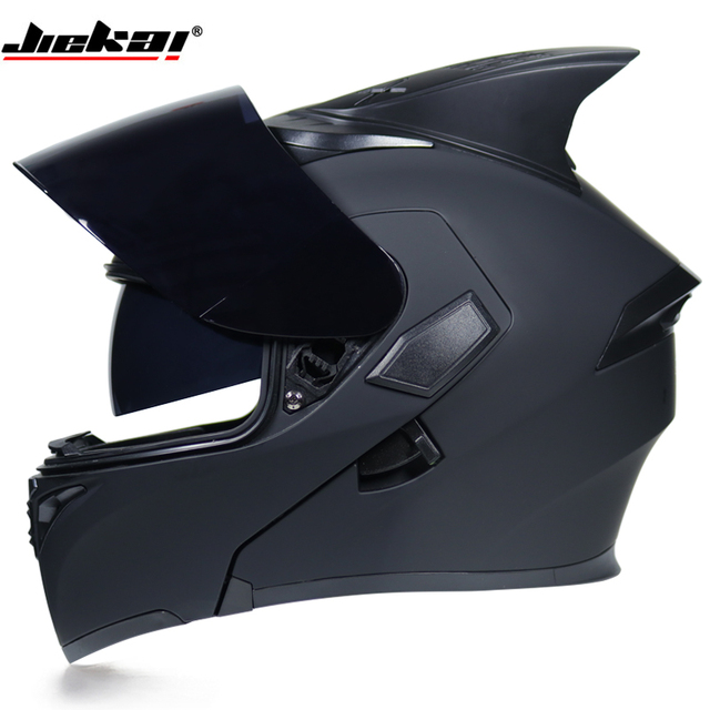 140043f2 JIEKAI 902 Motorcycle Helmets Double Visors Modular Flip Up Helmet DOT  Approved Full Face Casque Moto Racing Motocross Helmet-in Helmets from  Automobiles ...