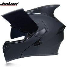 JIEKAI 902 Motorcycle Helmets Double Visors Modular Flip Up Helmet
