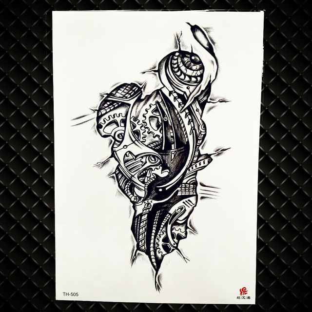 4dfe7fce440e5 Αγορά Τέχνη τατουάζ & σώμα   Lion King Warrior Temporary Tattoo ...