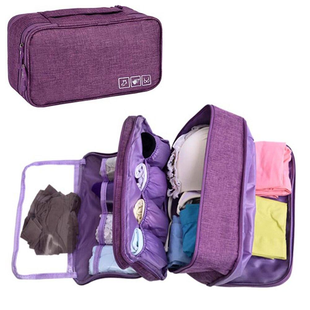 Accessories Clothing Bra Storage Bag Socks Box Underwear Briefs Wardrobe Cloth Case Portable Dividers Drawer Organizers Travel(China)