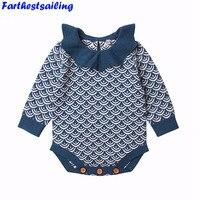 Yenidoğan 2018 Bahar Tulum Sevimli Toddler Bebek Kız Erkek Jumpers Tulum Playsuit Giyim Giyim 0-24 M