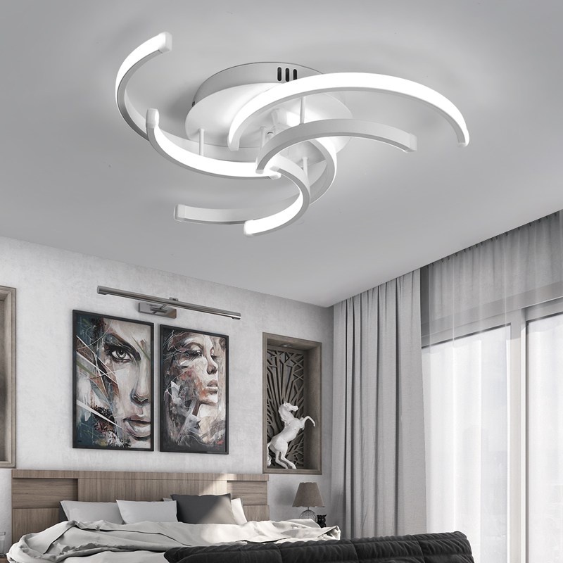 Living Room Bedroom Modern Led Ceiling Lights for Living room Aluminum avize AC85 265V lamparas de Modern Ceiling Lights Living Room | Living Room Ceiling Lights | Modern LED Ceiling Lamp Bedroom Aluminum avize AC85-265V
