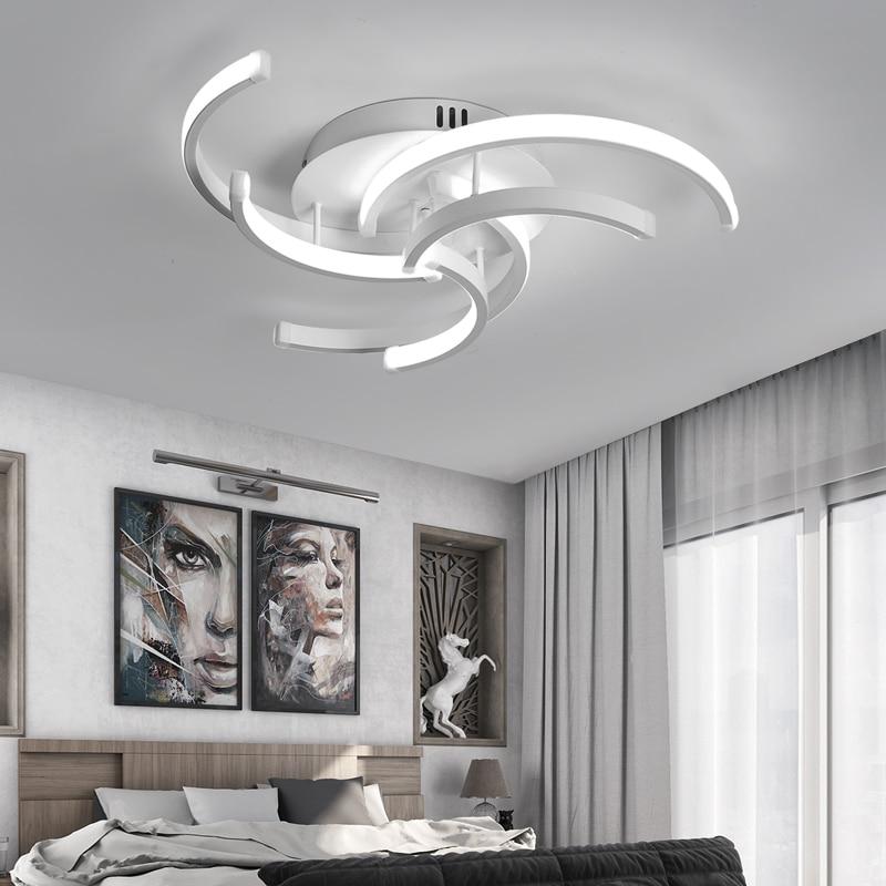 sala de estar quarto moderno led luzes 02