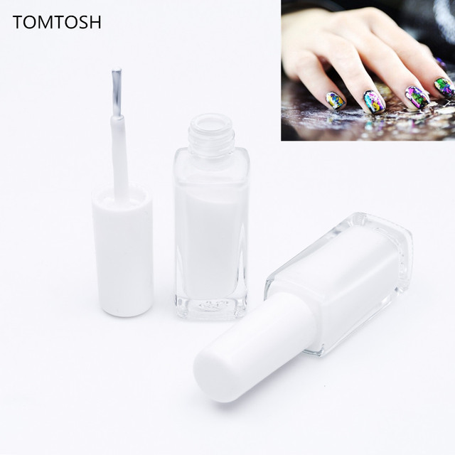 TOMTOSH New Arrivals 10ml Clear nail foil glue DIY Star glue for ...