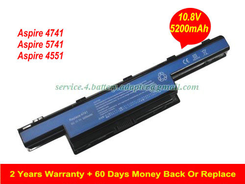 5200mAh AS10D61 Battery for Acer Aspire 4741 Aspire 5741 c5750 Series AS10D31 AS10D41 AS10D51 AS10D61