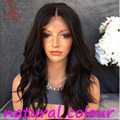 Natural Wave Glueless Full Lace Wigs Virgin Brazilian Human Hair Lace Front Wigs With Baby Hair 8A Full Lace Human Hair Wigs