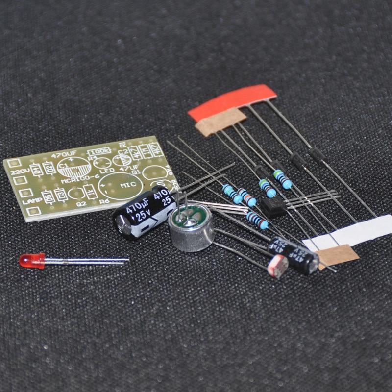 10pcs DIY Kit Light-Control Sensor Switch Suite For DIY Electronic Trainning UK