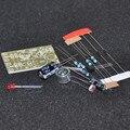 Kits electrónicos DIY 220 V bombilla lámpara sonido activado Auto retardo interruptor Suite luz Control LED indicador Kit Electronica Bricolaje