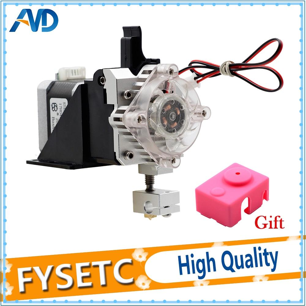 Titan and V6 Aero Extruder Upgrade Kit 175mm3mm Titan Aero Volcano Extruder V6 Hotend Extruder Set For Reprap 3D Printer