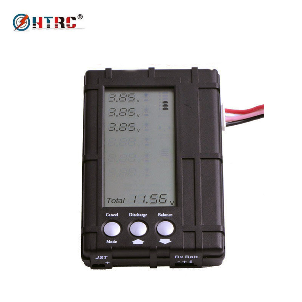 3in1 RC Battery Balancer / Discharger / Voltage Meter for 2s-6s Li-Po /Li-Fe 3pcs 3 7v 900mah li po battery 3 in 1 green us regulation charger and charging cable for rc xs809 xs809hc xs809hw aircraft