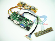 "HDMI + DVI + VGA + AUDIO LCD kontrol paneli kiti 20 ""LTM200KT01 1600*900 LCD denetleyici kurulu DIY kitleri"