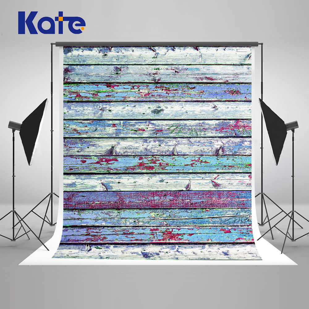 5x7ft Kate Color Wood Wall Background Wedding Bphotography backdrops Multi-size Can Washed Background Child Background Photo