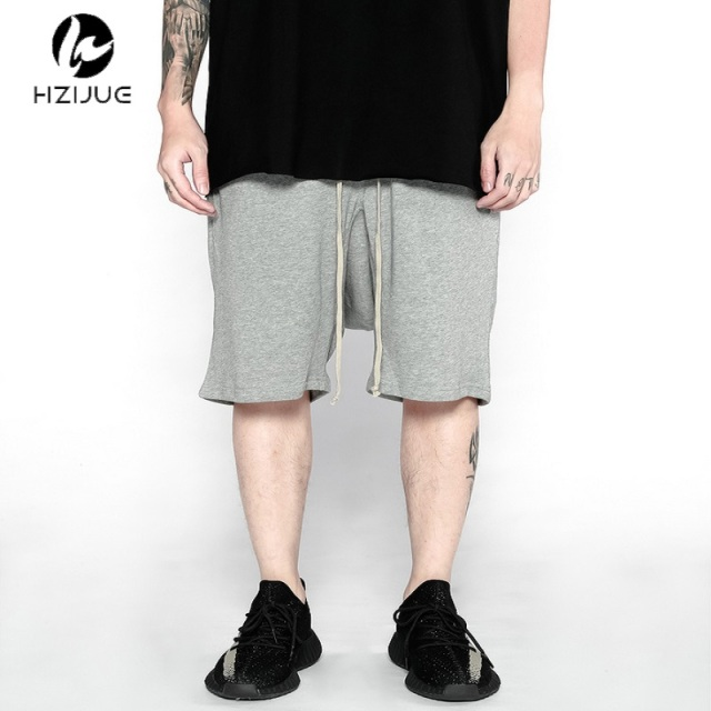 men 2017 summer spring/summer fashion korean short big mens urban clothing 30-40 black/grey plus size shorts low rise men