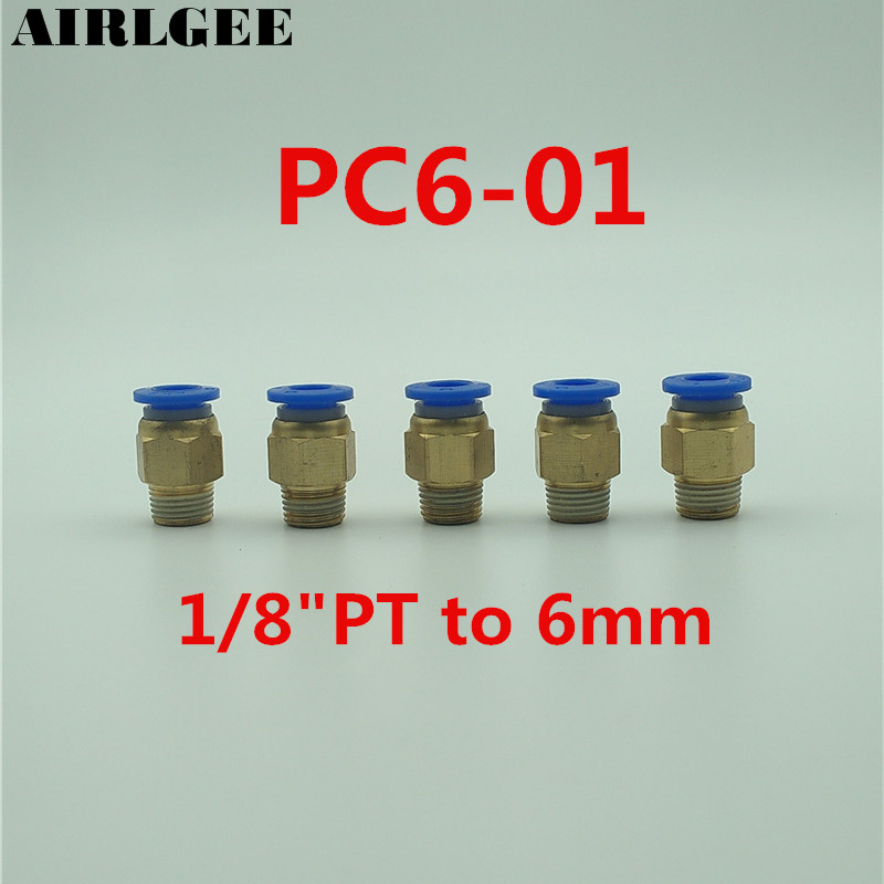 5 Pcs 6mm Tube 1/8