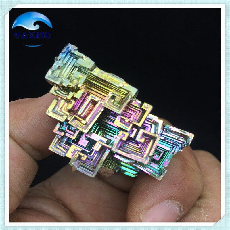Bismuth Crystals 69g Bismuth Metal crystal 80g bismuth crystals specimen bismuth metal bismuto jewelry child children s girlfriend birthday gift laboratory bi 80g