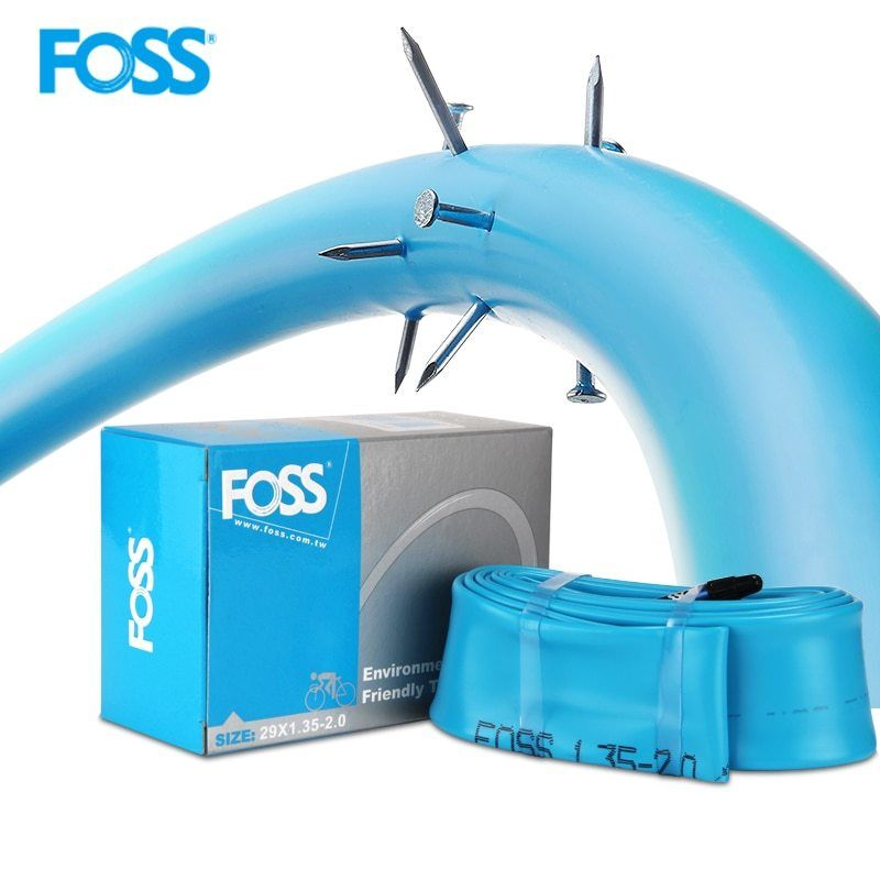 FOSS Bike Tube Tire Schrader/Presta 16/20/24/26/650B/29/700C Road MTB Bike Interior Tire Tube Anti Puncture Tube(China)