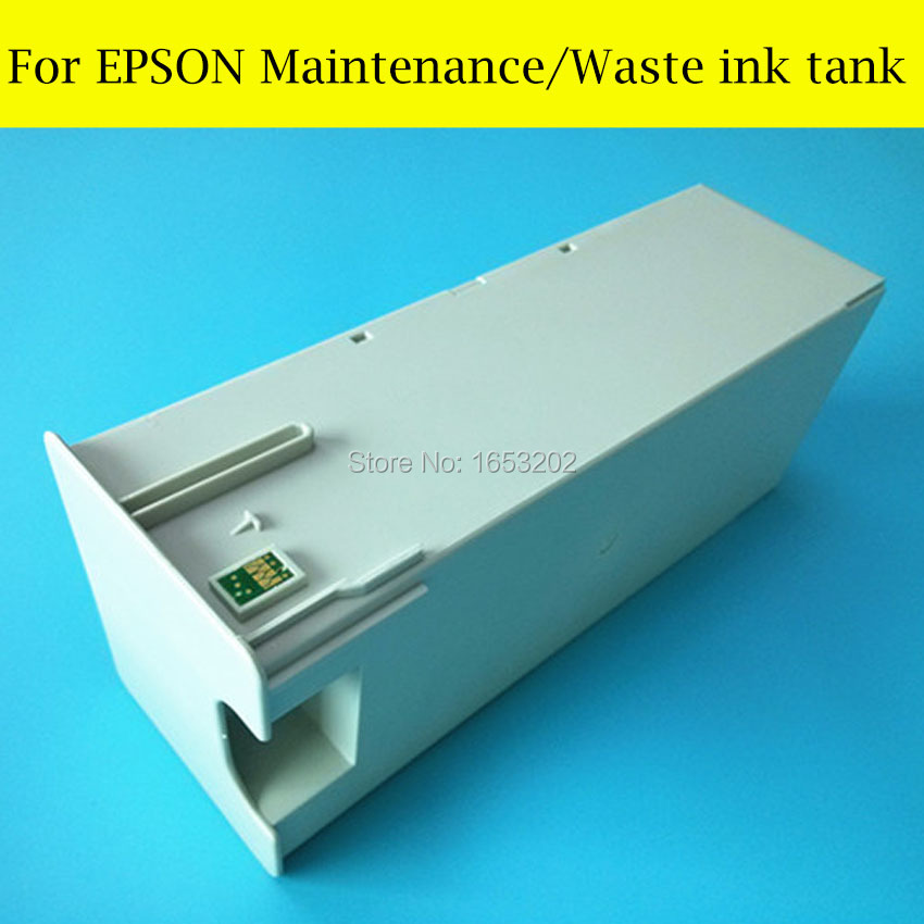 1 Piece Maintenance Ink Tank For Epson Stylus Pro 4800 4880 Printer Waste Ink Tank best price stable maintenance ink tank for epson surecolor t3070 t5070 t7070 printer waste ink tank