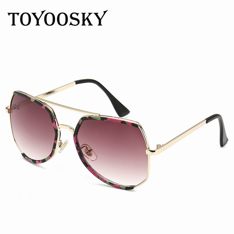 sunglasses aviator style  TOYOOSKY 2017 Green New Fashion Boys Kids Sunglasses Aviator Style ...