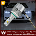 Night Lord 2pcs car led Headlight DIPPED BEAM LOW Beam condenser C6F 6000K 36W 9006 HB4 car head light for Civic 2006-2011